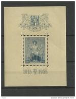 1938 MH  Ceskoslovensko, Block 5 - Blocks & Sheetlets