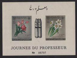 Afghanistan - BF N°16 (non Dentele) - Journee Du Professeur - Tulipes Narcisses - Cote 3.50€ - Afghanistan