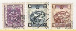 MANCHUKUO  112-15   (o)  1937  Issue - 1932-45 Manchuria (Manchukuo)