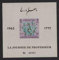 Afghanistan - BF N°41B - Journee De Professeur - Jasmin - Cote 6.50€ - Afghanistan