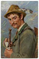 ARTIST : OSCAR GRAEF - ICH KOMME VOM GEBIRGE HER (TUCK'S OILETTE) - 1900-1949