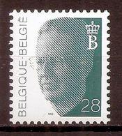BELGIE * Nr 2473 * Postfris Xx * WIT PAPIER - GROENE GOM - 1981-1990 Velghe