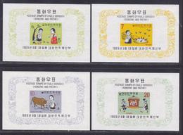 COREE DU SUD BLOC N°  158 à 161 ** MNH Neufs Sans Charnière, TB (CLR242) Fables - Corée Du Sud