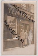 """Cpa Photo  """" Teinturerie """"  Lieu à Identifier ( Plusieurs Maisons Dans Paris  Maison Rousseau ) - Professions"""