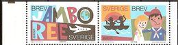 """SUECIA / SWEDEN/ SCHWEDEN/ SUÈDE- EUROPA  2007-"""" A CENTENARY SCOUT -EUROPA-CEPT""""- SERIE HORIZONTAL  De 2 V. (C) - 2007"""