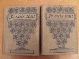 Je Sais Tout. Année Complète 1910 En 2 Volumes. Pierre Lafitte. Reliure éditeur - Books, Magazines, Comics