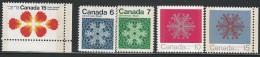 CANADA 1971 TAGGED W2B  SCOTT/UNITRADE 541p,554-557p VAL US $4.50 - 1952-.... Reign Of Elizabeth II