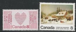 CANADA 1972 TAGGED GT2  SCOTT/UNITRADE 560p,610p VAL US $1.10 - 1952-.... Elizabeth II