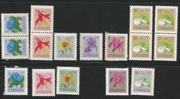 CANADA 1977 TAGGED GT2 SCOTT/UNITRADE 705-711A,781-783,785-786 VAL US $1.85 - 1952-.... Elizabeth II
