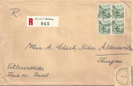 R Brief  Basel Horburg - Alterswilen             1949 - Briefe U. Dokumente