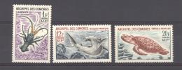 Comores  :  Yv  35-37  ** - Komoren (1950-1975)