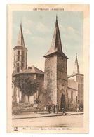 09 Sentein, Ancienne église Fortifiée (A1P21) - France