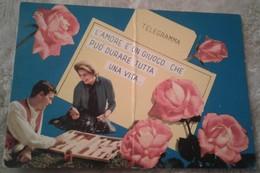 San Valentino - Innamorati - Telegramma - L Amore è Un Giuoco Che Può Durare Tutta La Vita 1968 - San Valentino