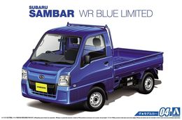Subaru Sambar WP Blue Limited 1/24 Aoshima - Cars