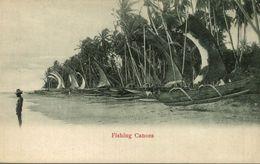 FISHING CANOES COLOMBO  SRI LANKA. CEYLON CEYLAN - Sri Lanka (Ceilán)