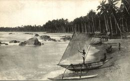 COAST SCENE COLOMBO     SRI LANKA. CEYLON CEYLAN - Sri Lanka (Ceilán)