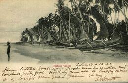FISHING CANOES  COLOMBO     SRI LANKA. CEYLON CEYLAN - Sri Lanka (Ceylon)