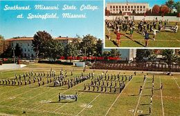 278767-Missouri, Springfield, Southwest Missouri State College, Marching Band, Ed Brooks By Dexter Press No 46688-C - Springfield – Missouri