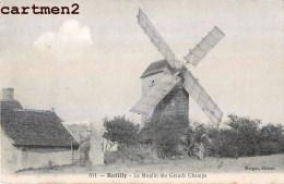 BATILLY LE MOULIN DES GRANDS CHAMPS MILL 45 LOIRET - Francia