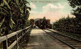 RAILWAY KALUTARA CEYLON SRI LANKA . CEYLON CEYLAN - Sri Lanka (Ceilán)