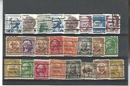 50607 ) Collection Precancel - Estados Unidos