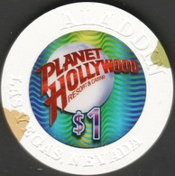 $1 Casino Chip. Planet Hollywood, Las Vegas, NV. B19. - Casino