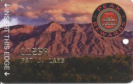 Sandia Casino - Alburquerqe, NM - Slot Card - Cpi 2006384 Over Mag Stripe - Casino Cards