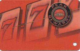 Sandia Casino - Alburquerqe, NM - BLANK Slot Card - Red Sandia In Logo - Casino Cards