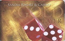 Sandia Casino - Alburquerqe, NM - BLANK Slot Card - Casino Cards