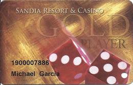 Sandia Casino - Alburquerqe, NM - Slot Card - Casino Cards