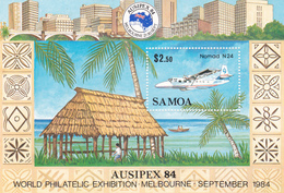 Samoa SG 683 1984 Ausipex Miniature Sheet, Mint Never Hinged - Samoa