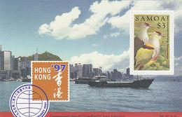 Samoa SG 1004 1997 Hong Kong 97 Stamp Exhibition MS - Samoa