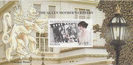 Samoa SG 1053 1999 Queen Mother Century MS - Samoa