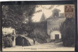 5330. MAYENNE . UN COIN DU JARDIN ET LA PRISON . (recto Verso) ANNEE . 1931 .  EDIT.  COCONNIER - Mayenne