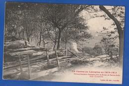 Retranchement Francais Pres De La Ferme Sainte Anne A Luneville Ecrite 1915 (Très Très Bon état) Y 4808) - Weltkrieg 1914-18