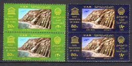 1966; Sauvegarde Des Monuments De Nubie, YT 99 + 100 En Paire, Neuf **. Lot 49672 - Poste Aérienne