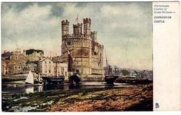 Raphael Tuck Carnarvon Castle Castles Of Britain - Tuck, Raphael