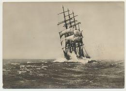 AK  Segelschulschiff Im Nordatlantik - Voiliers
