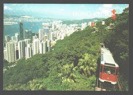 Hongkong - The Hong Kong Peak Tramway - Chine (Hong Kong)