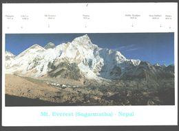 Nepal - Mt. Everest ( Sagarmatha) - Alpinism - Népal