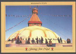 Nepal - Boudanath Stupa - Népal
