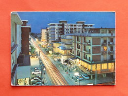 Cartolina Igea Marina - Notturno - 1975 - Rimini