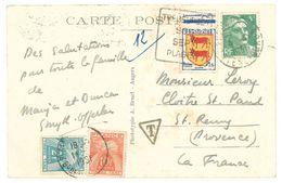 Cpa Trébeurden - Vieux Manoir De Kérario ... ( Tampon & Timbres Taxe ) - Trébeurden