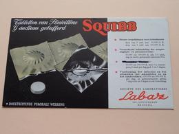 Tabletten Van Pénicilline G Sodium Gebufferd SQUIBB ( Soc Des Laboratoires Labaz Brussel ) ! - Produits Pharmaceutiques