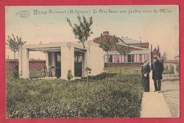 Roux - Le Père Dans Son Jardin Avec La Mère ... Spécial  - 1918 ( Voir Verso ) - Charleroi