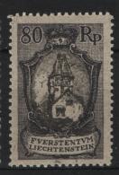 Liechtenstein 1921 Unif. 58 **/MNH VF - Liechtenstein