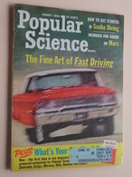 POPULAR SCIENCE Monthly - August 1963 - 35 Cents ( The Fine Art Of Fast Driving ) CAMEL Pub ! - 1950-Heute