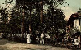 COLOMBO (SRI LANKA / CEYLAN) - RICKSHAWS  SRI LANKA . CEYLON CEYLAN - Sri Lanka (Ceilán)