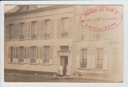 PACY SUR EURE - EURE - CARTE PHOTO - MAISON DE SANTE - 107 RUE ISAMBART - Pacy-sur-Eure