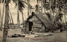 168 FISHERMANS HUTT CEYLON   SRI LANKA . CEYLON CEYLAN - Sri Lanka (Ceilán)